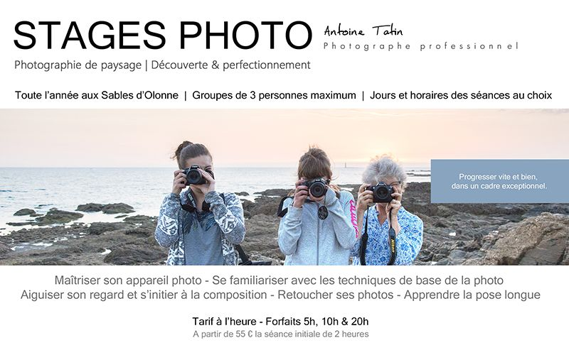 Stages Photo avec Antoine Tatin